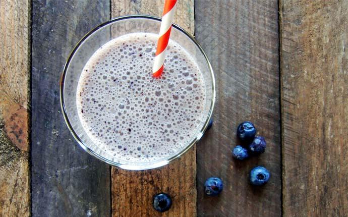 blaubeer-smoothie